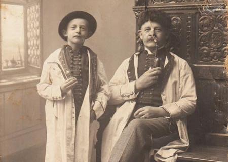 Max und August im Jahre 1912